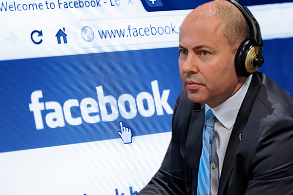 Article image for Josh Frydenberg says there isn't 'any ability' for Facebook to censor news under new code