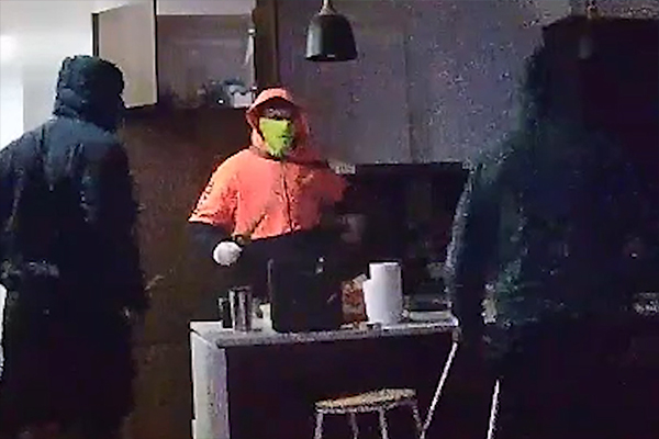 Article image for Police release confronting footage of 'brazen and violent' Heidelberg home invasion