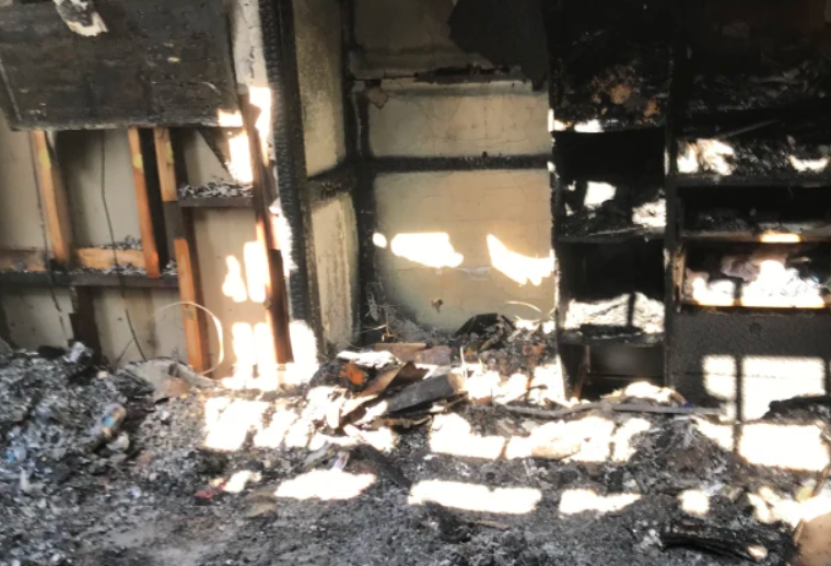 Article image for Journalist recalls near-death house fire experience