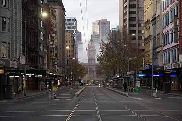 Article image for Hopes the creative sector will breathe life into Melbourne's ailing CBD