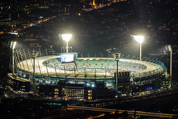 Article image for What MCG officials are expecting tonight