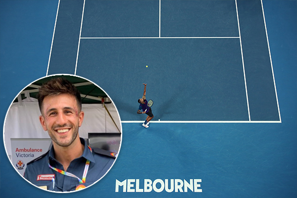 Article image for The community hero who is one of the voices calling the Australian Open