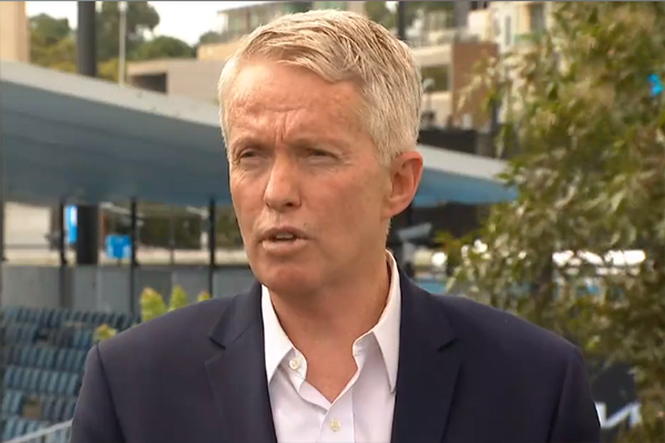 Article image for Tennis chief 'absolutely confident' Australian Open will go ahead as planned