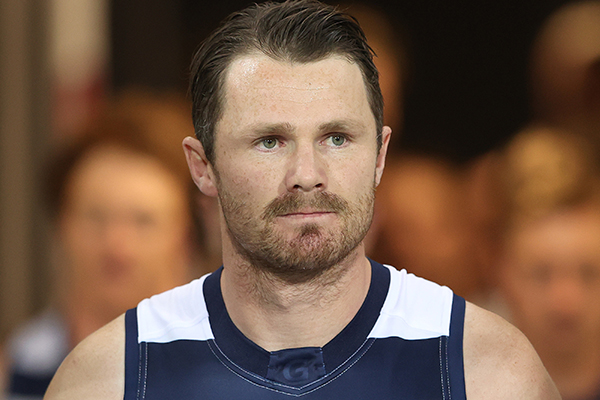 Article image for Patrick Dangerfield suspended over hit on Jake Kelly