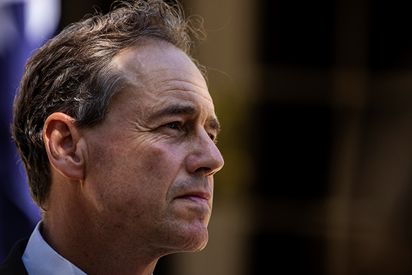 Article image for Health Minister Greg Hunt reveals reason for his hospitalisation