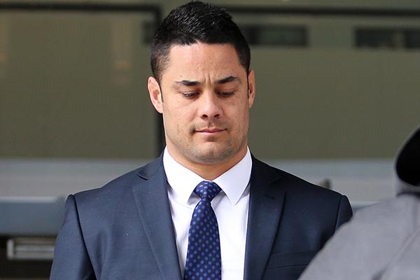 Article image for Former NRL star Jarryd Hayne found guilty of sexual assault