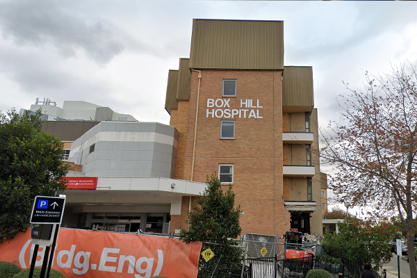 Article image for Box Hill Hospital patient 'frustrated' as effects of cyber attack stretch into second week