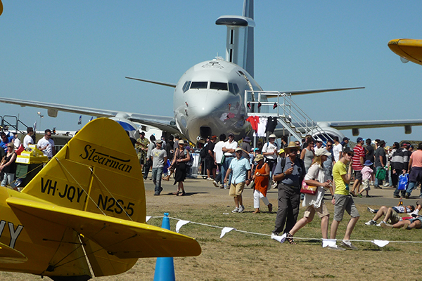 Article image for Australian International Airshow rescheduled for a second time