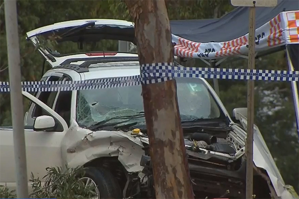 Article image for Man charged with murder after car crash shooting in Corio