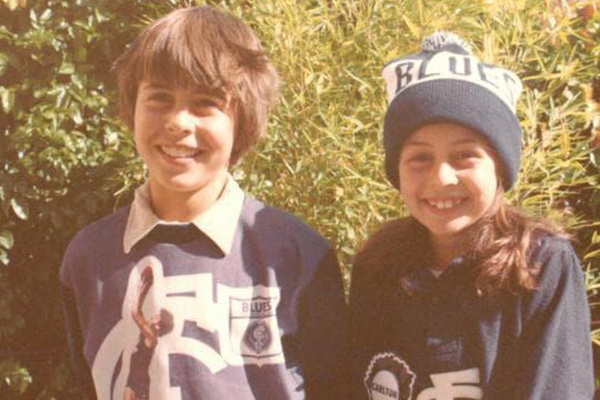 Article image for Carlton's new number one ticket holder says it's 'a huge honour'