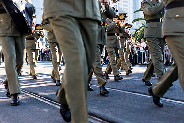 Article image for March on: Plans for Melbourne's Anzac Day parade to go ahead