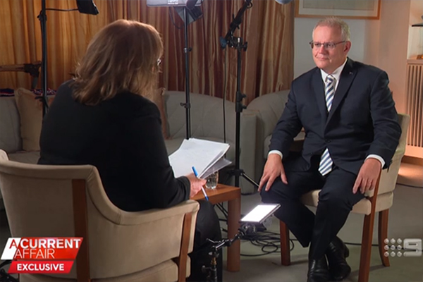 Article image for What Neil Mitchell thought of Tracy Grimshaw's interview with Scott Morrison