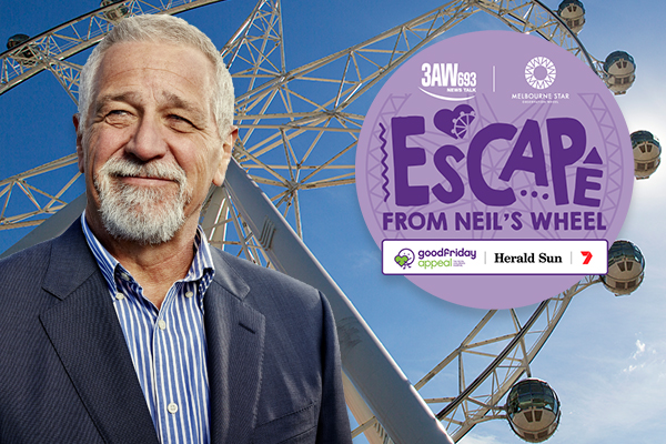 Article image for THANK YOU! Neil's Wheel has raised more than $1 million for the Good Friday Appeal!