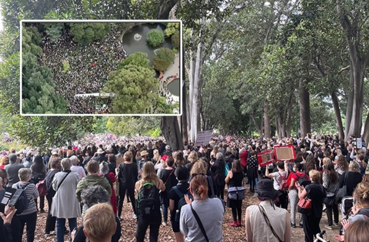 Article image for Why the March 4 Justice protests are a 'pivotal moment for Australia'