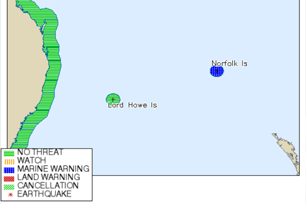 Article image for Tsunami warning for islands in the Pacific after New Zealand earthquakes