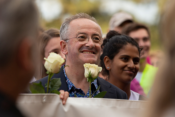 Why Andrew Denton keeps campaigning for euthanasia laws