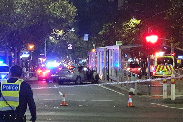 Article image for Trio arrested after dramatic high-speed police chase across Melbourne
