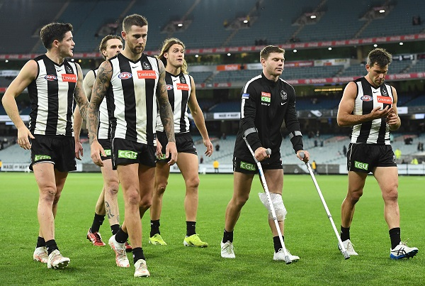 Article image for Collingwood star asked whether criticism of the club has been 'fair'