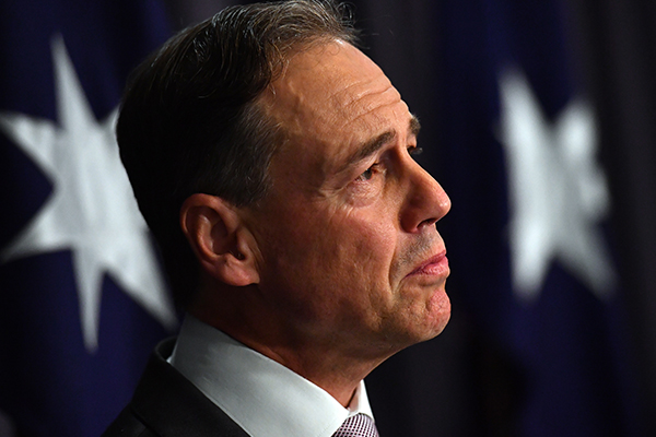 Article image for Greg Hunt responds to Victorian vaccine announcement, defends AstraZeneca investment
