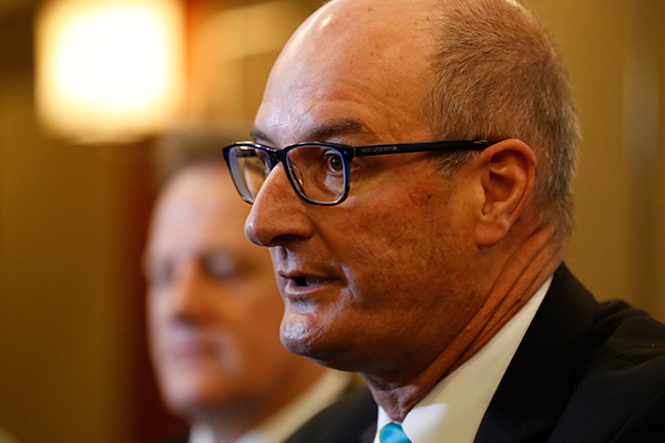 Article image for Port Adelaide chairman David Koch rips into the AFL