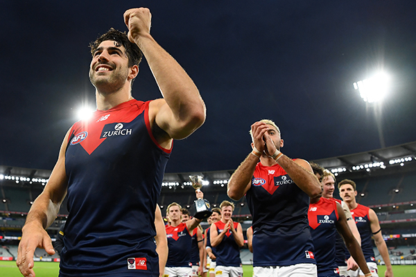 Matthew Lloyd's message to those doubting the Demons