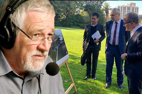 Article image for Why Neil Mitchell was 'disappointed' by COVID-19 quarantine facility announcement