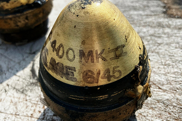 Article image for Fishing trawler nets more than 50 World War Two explosive devices
