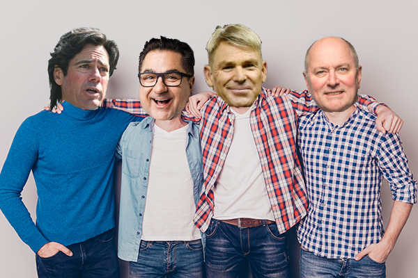 Article image for Your nominations for the 'Real Husbands of Melbourne'
