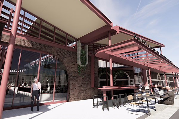Article image for New plan for Queen Victoria Market food hall revealed