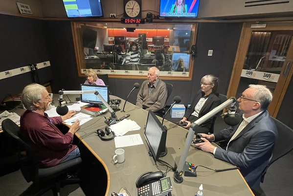 Friends and family of Paul Denyer's victim, Natalie Russell, join Neil Mitchell in studio