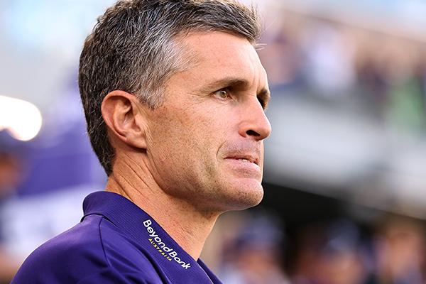Article image for Justin Longmuir's blunt assessment of Fremantle's loss to West Coast