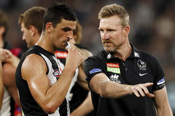 Article image for Collingwood captain Scott Pendlebury brushes off 'uneducated' criticism