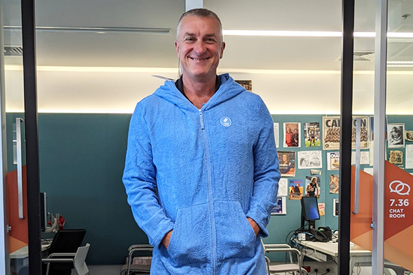Article image for You won't believe what Tom Elliott wore to work today