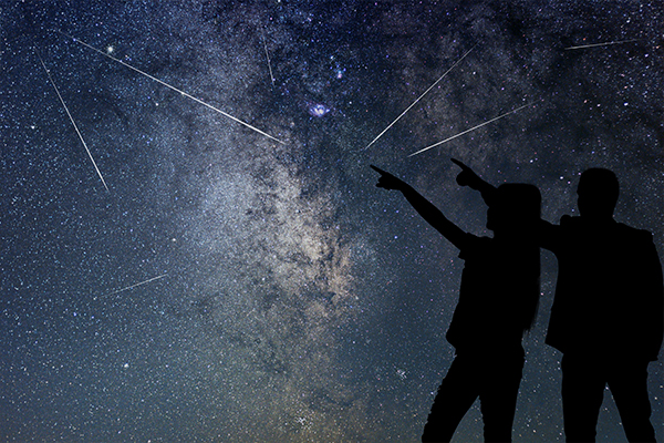 How to see a meteor shower caused by Halley's Comet this weekend