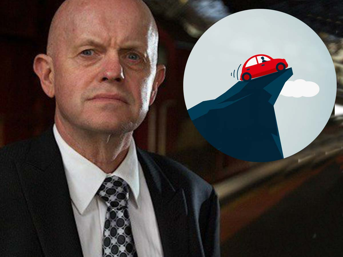 Article image for Echo Taskforce boss confirms Sly WAS rescued after driving car 'over a cliff'