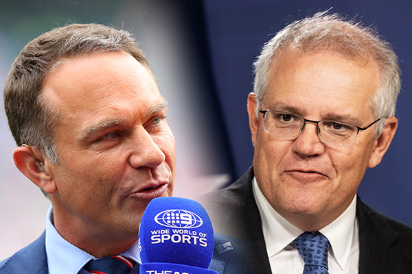 Article image for Prime Minister responds to Michael Slater's fiery tweets urging him to 'come and witness dead bodies'
