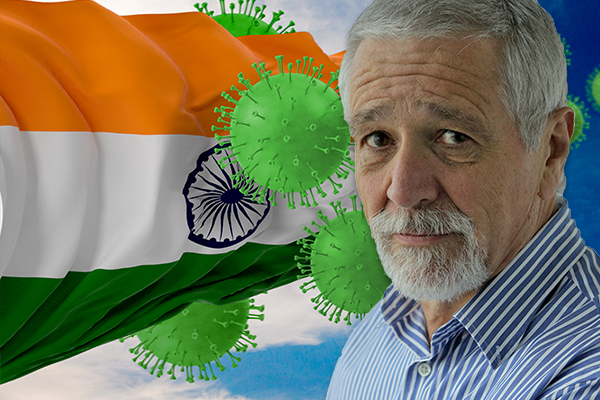 Article image for Neil Mitchell clashes with community leader who says leaving Australians in India is 'more than racist'