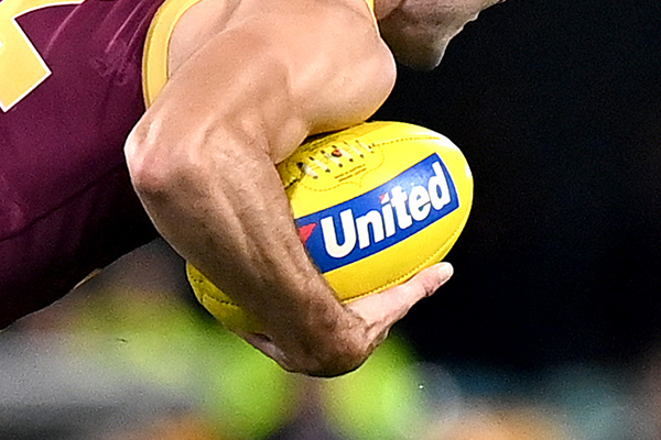 Article image for Petrol boss responds to AFL stripping clubs of ball sponsors
