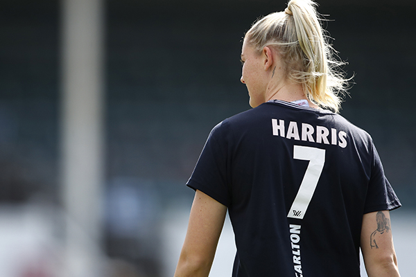 Article image for Carlton's AFLW coach with the latest on the future of Tayla Harris