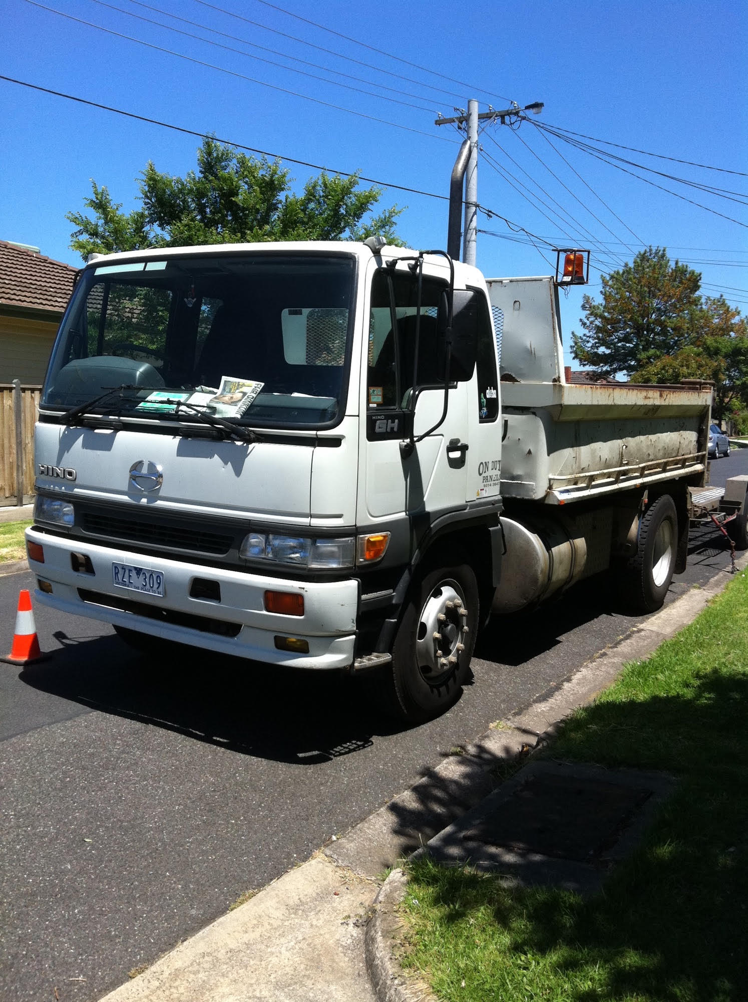 Article image for Missing truck and trailer
