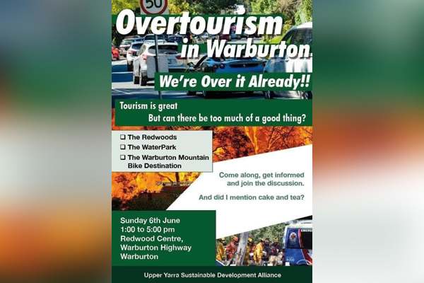 Article image for 'Over it already!': Why Warburton locals are rallying against tourists