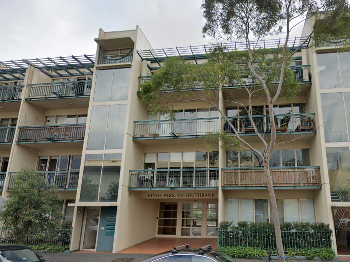 Article image for Southbank apartment complex locked down as two more residents test positive to COVID-19