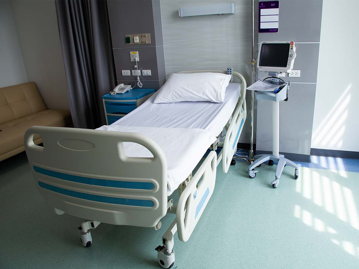 Article image for About 100 hospital beds on standby in case COVID-19 outbreak worsens
