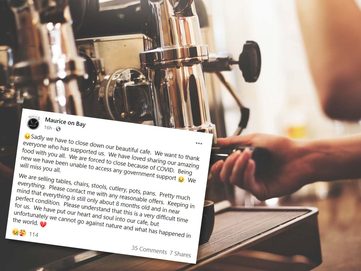 'Cannot go against nature': Fledgling Port Melbourne cafe's heartbreaking COVID-19 story