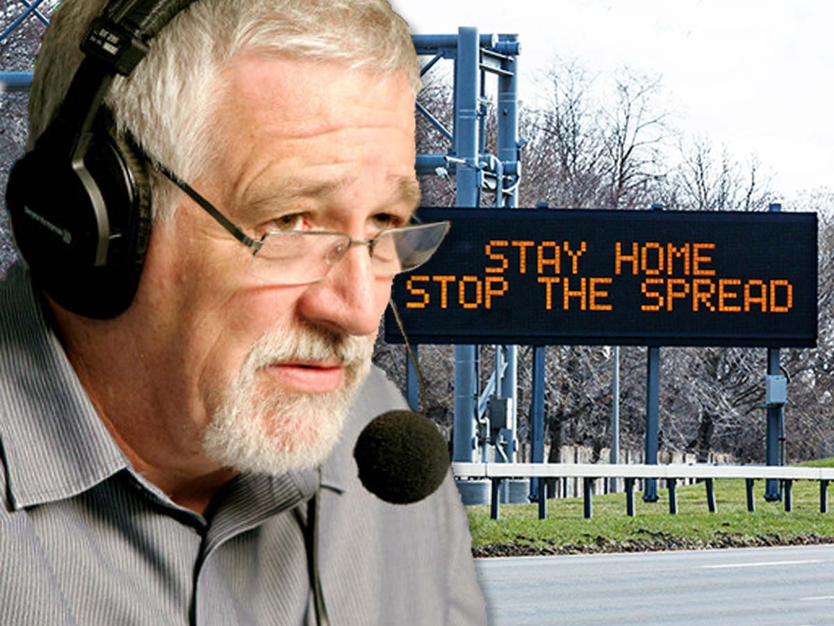 Article image for Neil Mitchell shares 'staggering' reason why lockdown didn't end last night