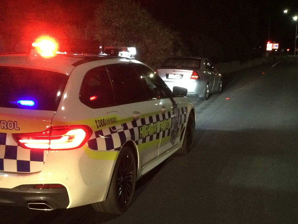 Article image for Drink driver nabbed travelling at 130km/h with two babies in the car