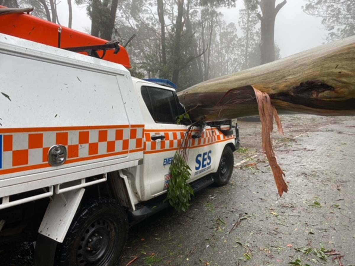 Article image for SES forced to stop responding to calls for hours due to 'incredibly dangerous conditions'