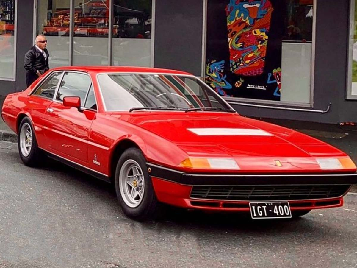Article image for How a man was reunited with his stolen 70s Ferrari just hours after learning it was missing