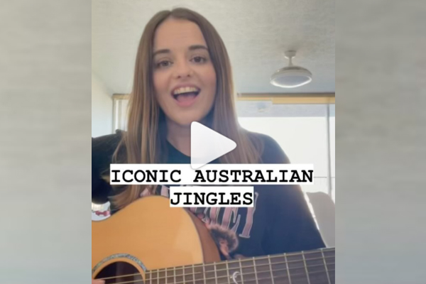 Article image for Melbourne-raised musician goes viral with mash-up of well-known jingles!