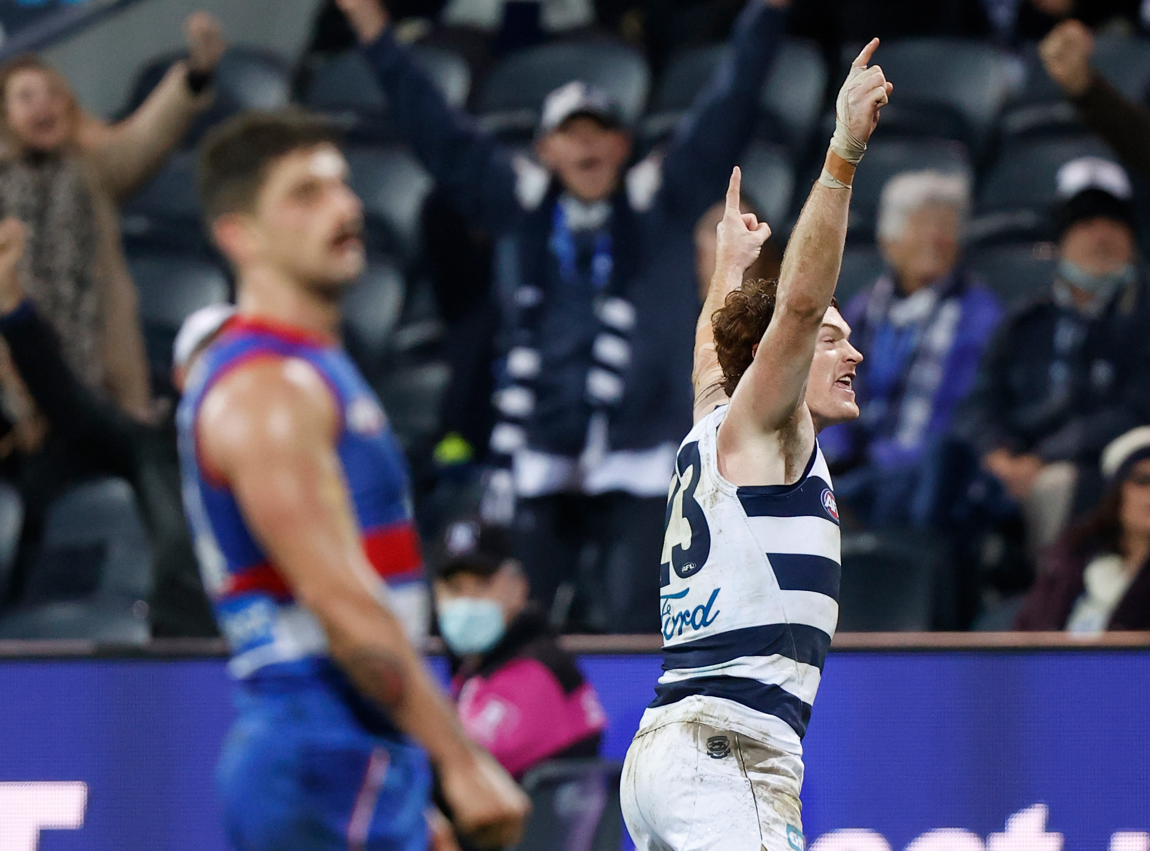Tim Lane's call of Gary Rohan's goal after the siren against the Western Bulldogs!
